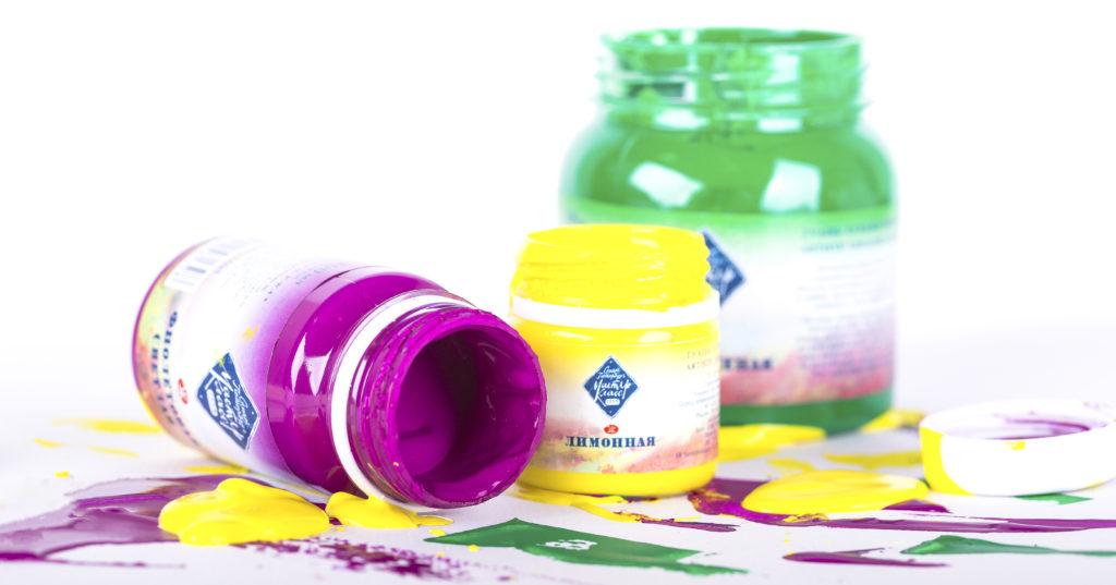 Designer gouache paint